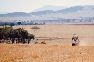 Op safari in Tanzania